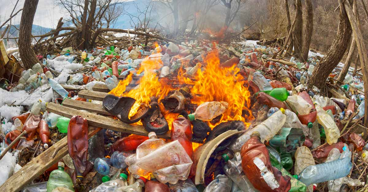 Soon up to Rs 50,000 fine for burning plastic waste in open spaces!
