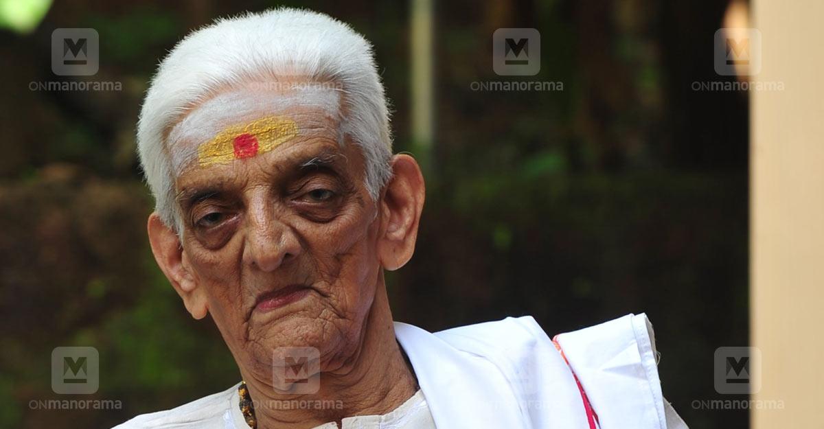 Mollywood's grandpa Unnikrishnan Namboothiri dies at 98