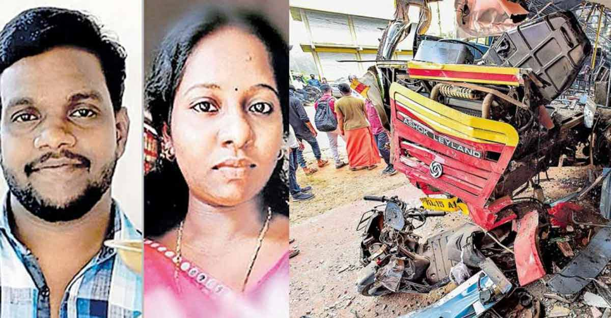 Two lose lives as bus drags scooter on risky stretch of MC Road