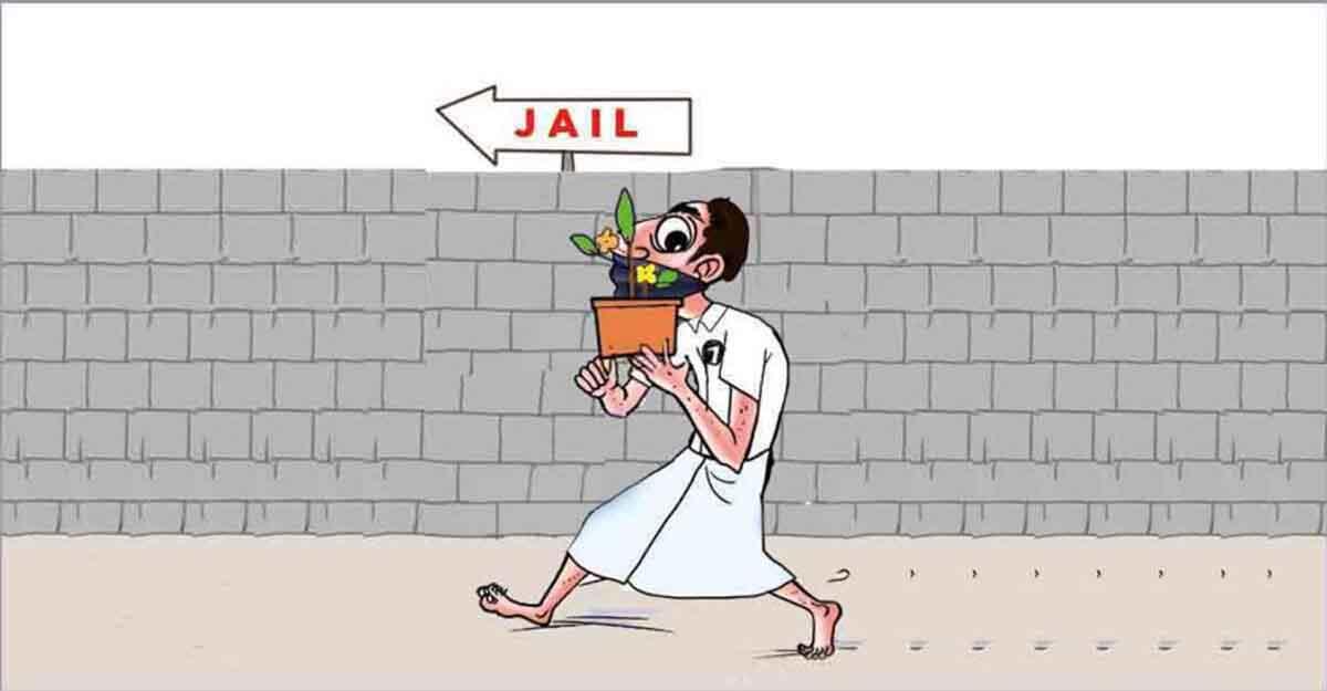 History-sheeter dumps latest booty at Kannur jail, flees