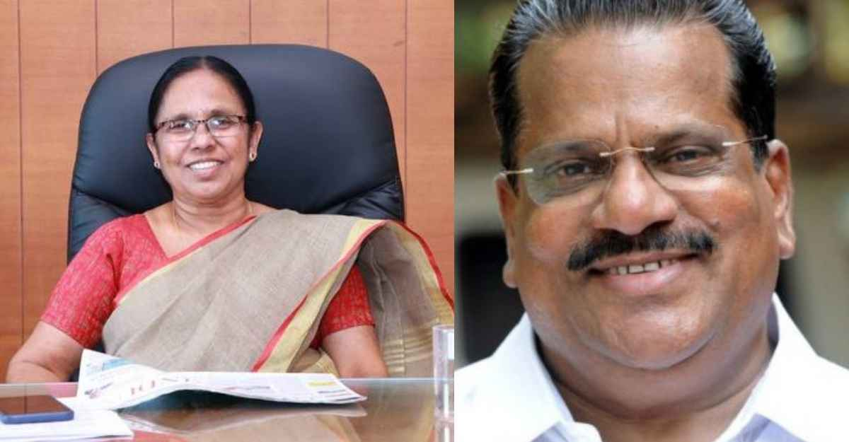 EP Jayarajan not to contest polls, KK Shailaja to be fielded from Mattanur