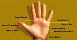 Do you have a mole on this spot of your palm?