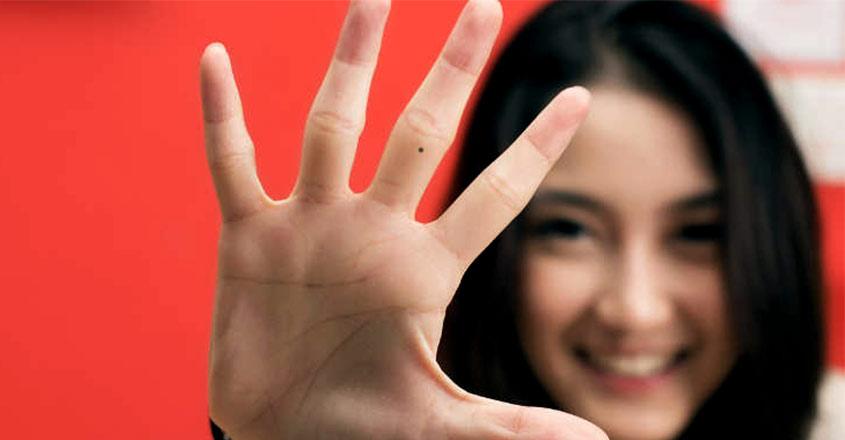 mole-hand