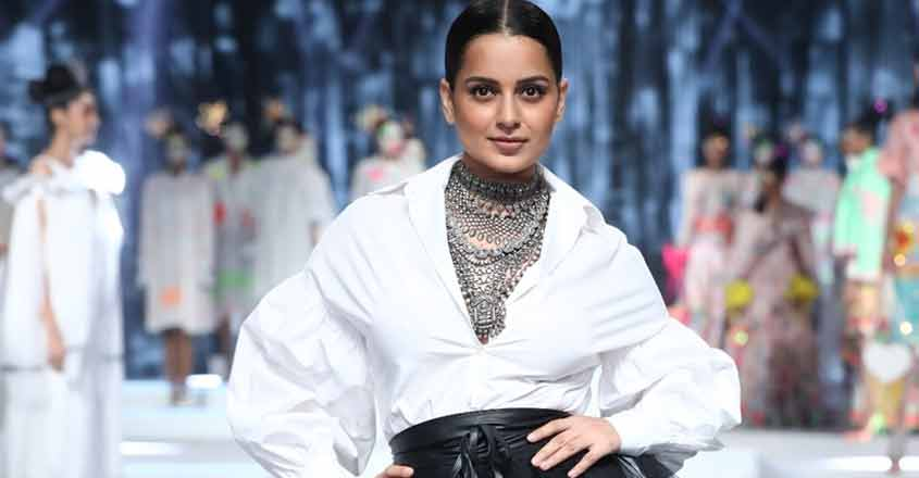 Kangana Ranaut brings LMIFW SS'20 curtains down.