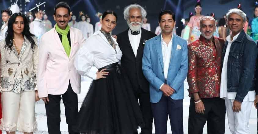 Kangana Ranaut brings LMIFW SS'20 curtains down.