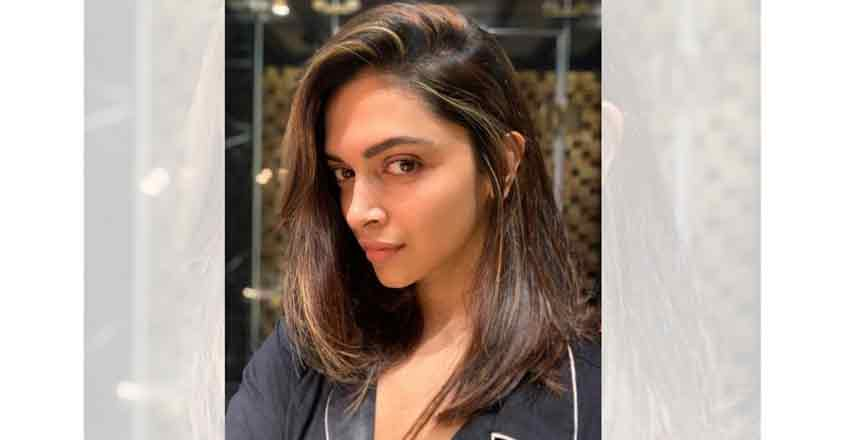 Actress Deepika Padukone on Sunday treated her fans with a picture of her new hairdo. It seems she has chopped off her hair.