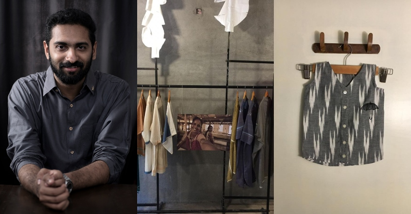 Designer Sreejith comes up with sustainable fashion for newborns