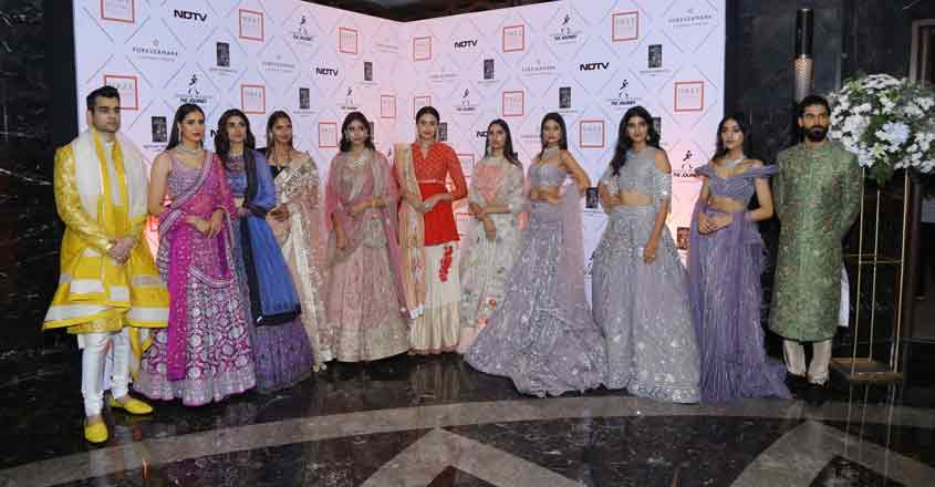 Models at the Vogue Wedding Show 2019.