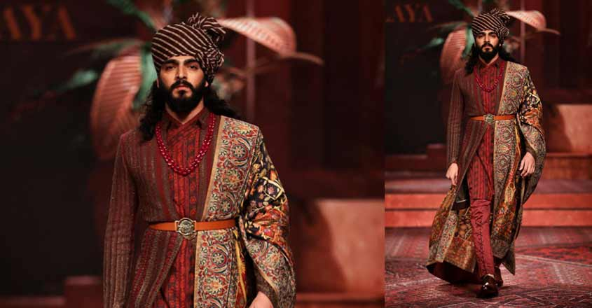 Designer Valaya showcases Persian theme at annual event