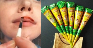 American beauty blogger used henna as a lip stain and here's what happened