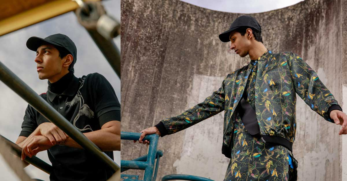 A new fashion label on the block for men to sense wonder