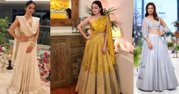 Get inspired by these B-Town beauties for in-house Diwali celebrations