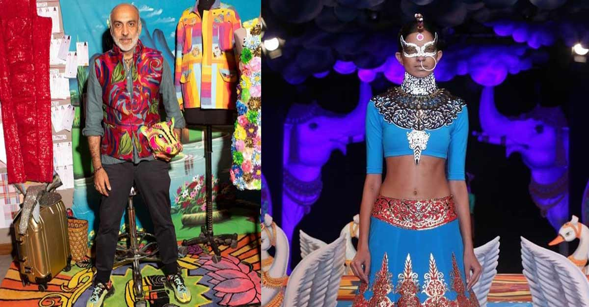 Manish Arora the 'John Galliano of India' is in news for a different reason