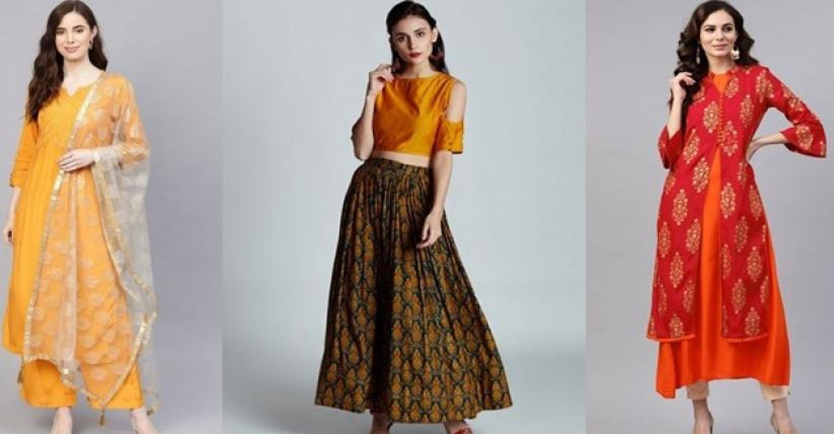 Give a twist to your ethnic wear, dazzle at the New Year party