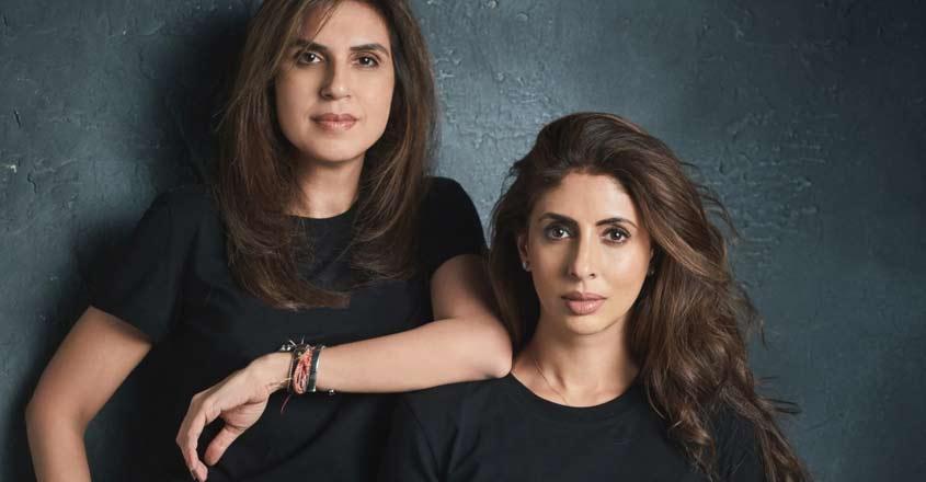 Monisha Jaising & Shweta Bachchan Nanda.