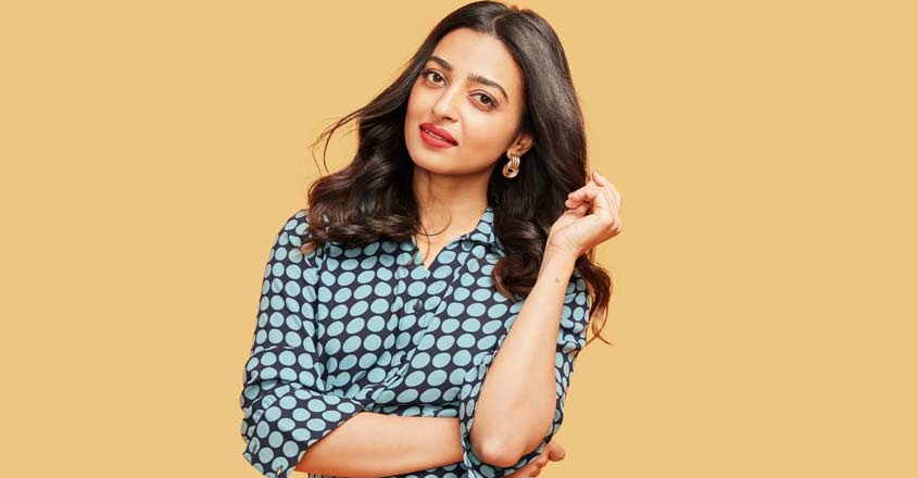 Radhika Apte collaborates with clothing line.