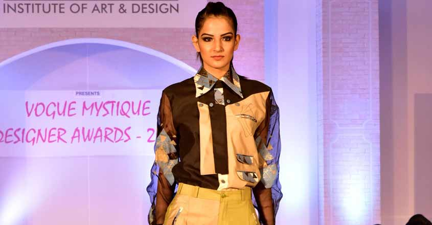 Designed by Karishma Shah, student at Vogue Institute of Art & Design.