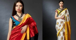 Make sari your workwear staple, it oozes power and confidence
