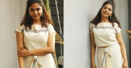 Poornima Indrajith awes fans in a specially designed mundu