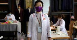 Chinese designer makes silk masks for protection from coronavirus