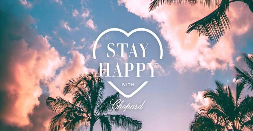 Swiss luxury brand creates digital campaign 'Stay Happy'