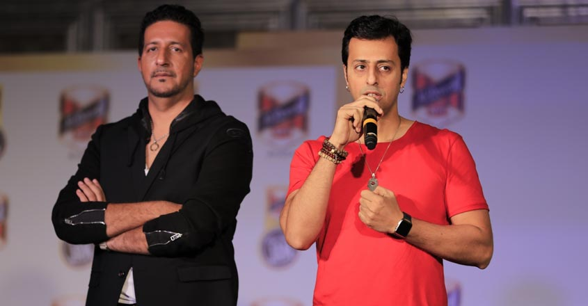 Salim-Sulaiman on Stage