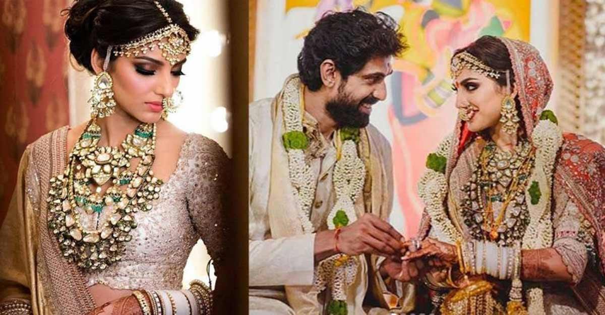 Miheekha's wedding lehenga took 10,000 hours to make