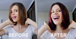 Kalki Koechlin gives herself a makeover at home