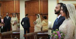 Miya appears mesmerising in her bridal trousseau