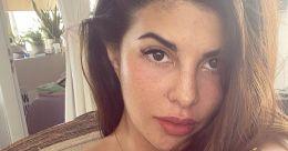 Actress Jacqueline Fernanadez celebrates freckles, posts unfiltered selfie