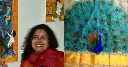 Mural painted saris awaiting new dawn: Artist Sujatha Sankar on life, art & pandemic