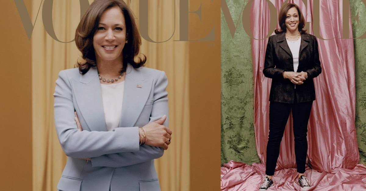Kamala Harris' Vogue cover picture sends ripples through the internet
