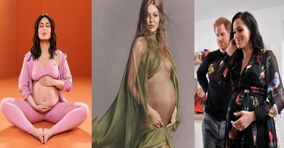 Maternity fashion can be fun, go the celebrity way