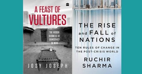 A feast of vultures and The rise and fall on nations