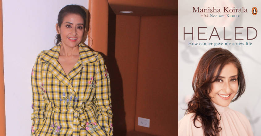 Manisha Koirala's book 'Healed' accounts her life's battle