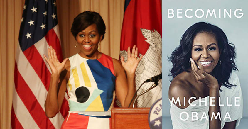Michelle Obama's memoir 'Becoming' is an instant hit