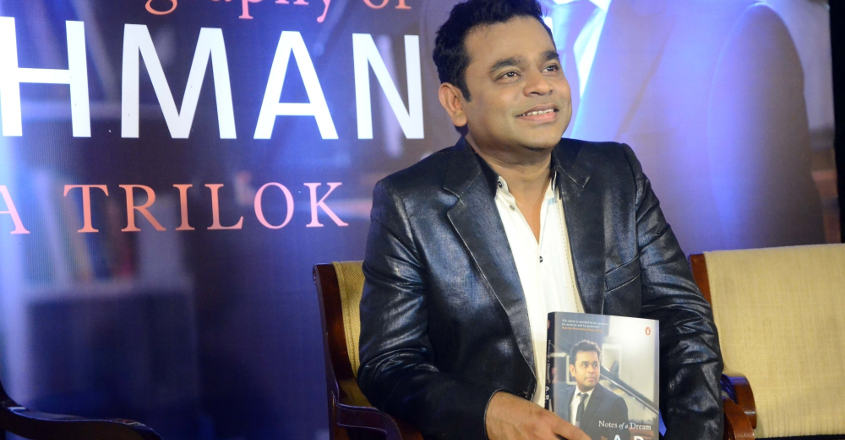 Biography reveals many untold facts of A R Rahman