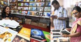 Darsana international book fair in Kottayam attracting readers