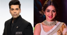 Karan Johar to release book on Sridevi