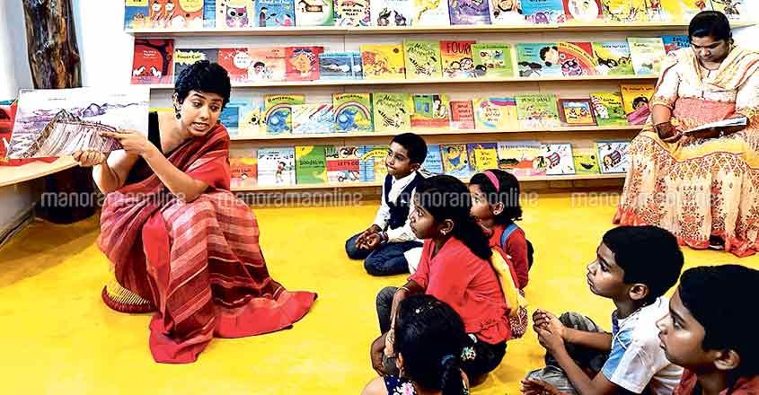 Narrating Kerala floods to kids through an illustrated book