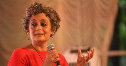 'More happy than sad', says Arundhati Roy as TN varsity drops her book