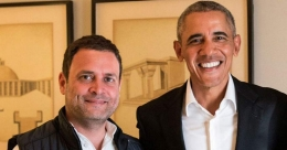 Rahul Gandhi like a student without passion to master a subject: Obama in new book