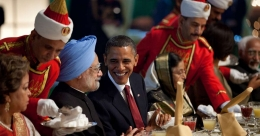 Obama's book unleashes the West's view of India as a country of violence, caste