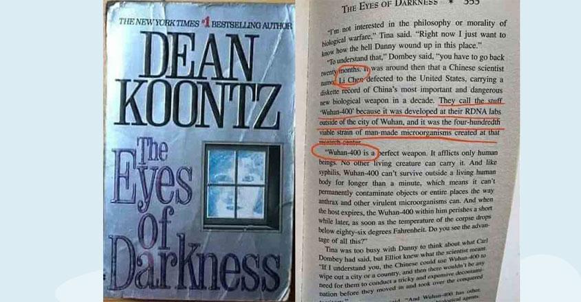 Dean Koontz predicted coronavirus 40 years ago in his book 'The Eyes of Darkness'