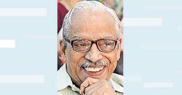 No more novels, says celebrated Malayalam writer K L Mohana Varma