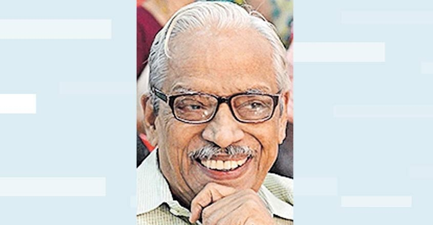 No more novels, says celebrated Malayalam writer K L Mohana Varma