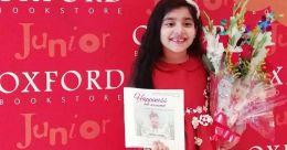 Rashtrakavi Maithili Sharan Gupt's great grand daughter writes first book at age 7