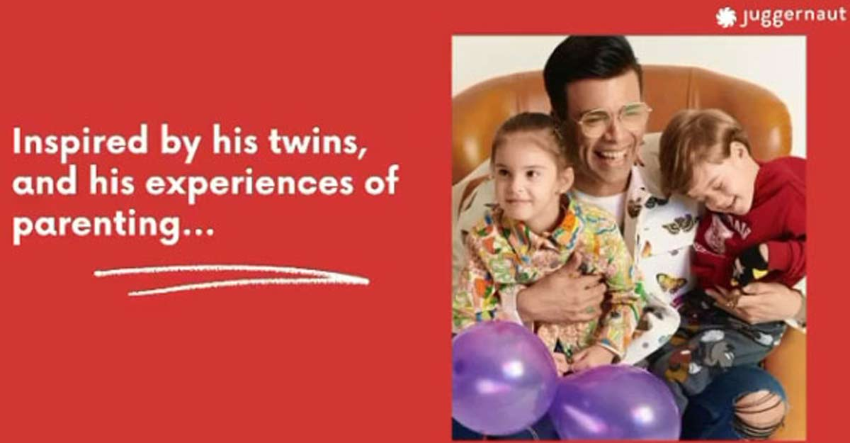 Karan Johar announces children's book inspired by twins, gets trolled