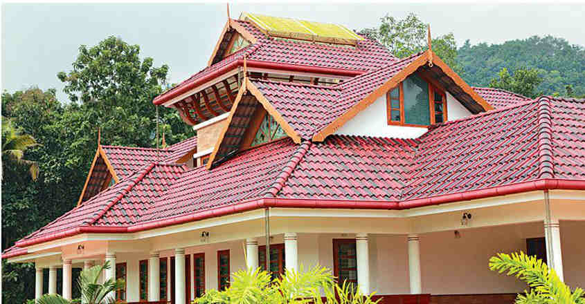 Construct Attractive Roofing To Give A Suave Look To Your House Dream Home House Construction Truss Work Design Building Aluminium Sheets Roofing Onmanorama Decor Home Decor Homestyle Lifestyle News