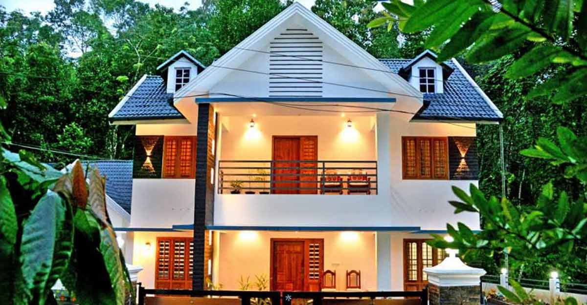 NRI's dream home in Kottayam blends modern and traditional Kerala styles